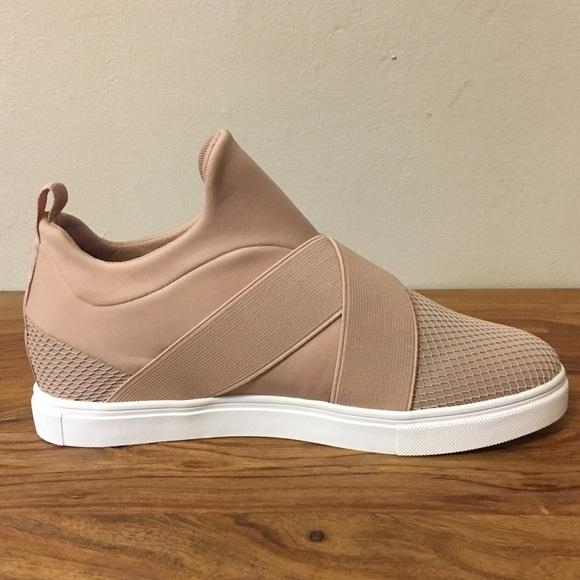 Nib Steve Madden Laynie Wedge Sneaker